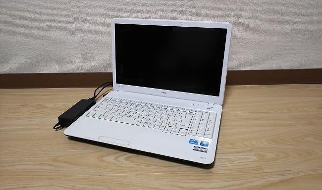 パソコンの撮影
